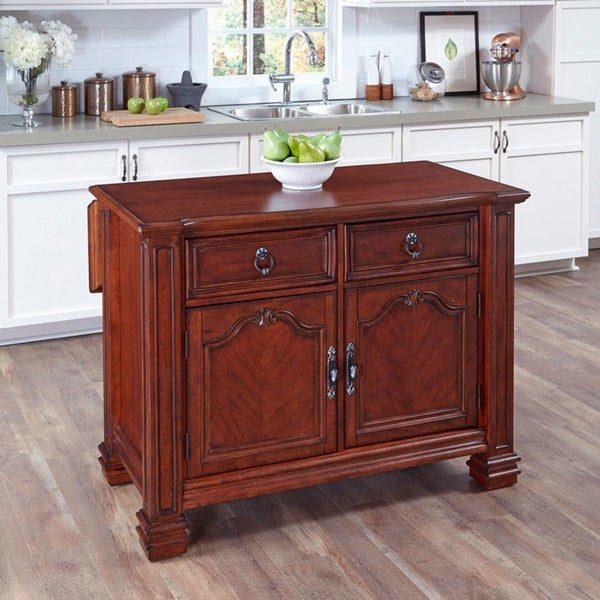 overstock kitchen island shop santiago kitchen island by home styles free 14493