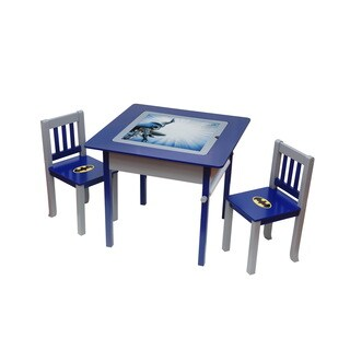 Batman Deluxe 4-in-1 Flip-top Table and Chairs Set