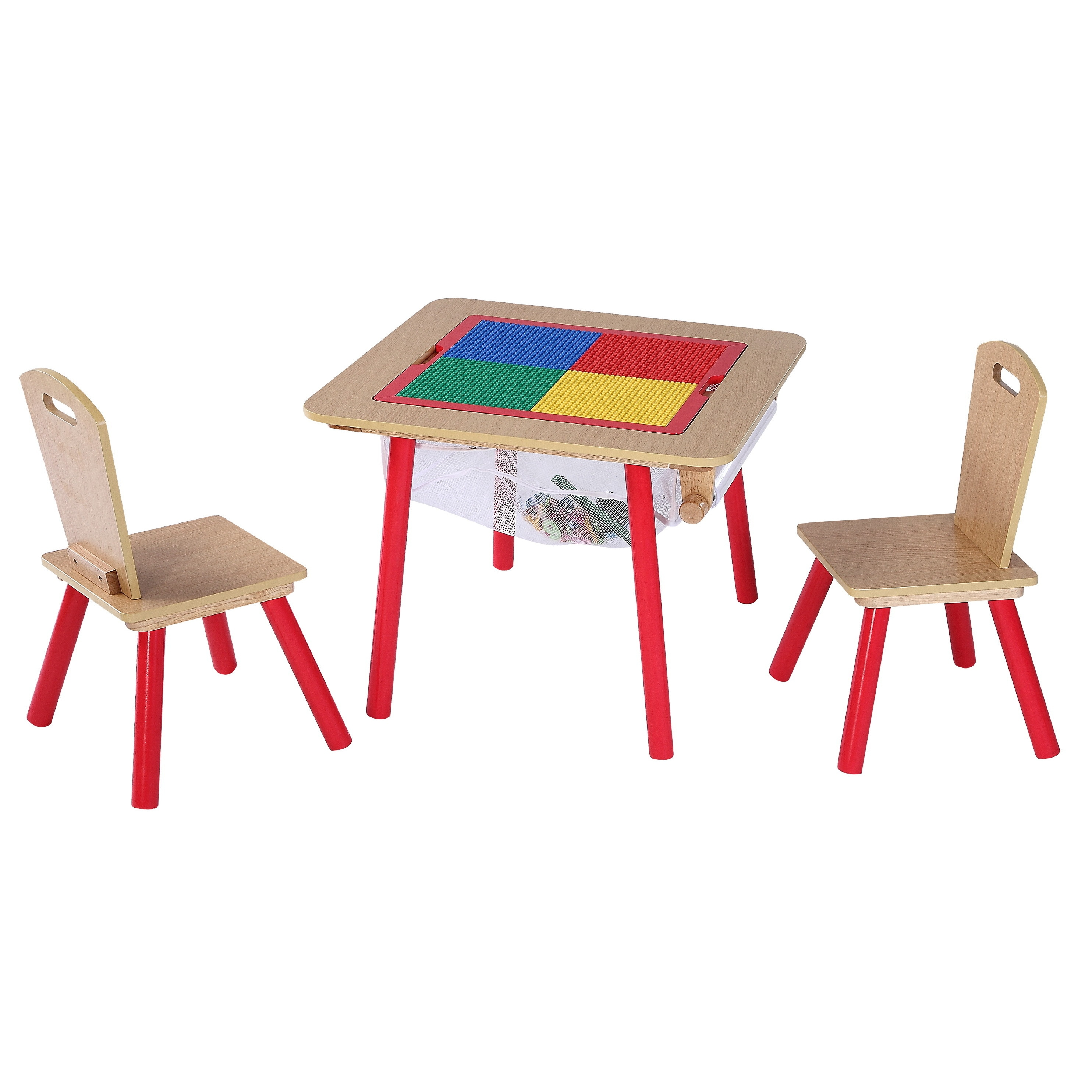 Picture of: O Kids 4 In 1 Flip Top Multi Function Table And Chairs Set Overstock 12739748