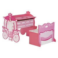 O'Kids Carriage Activity Table and Armoire