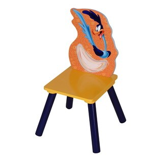 O'Kids The Road Runner Kid's Multicolor MDF and Rubber Chair