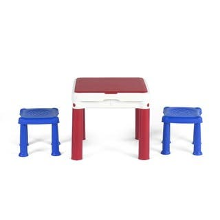 Keter ConstrucTable Kids Activity and Play Duplo and Lego Compatible Table with 2 Chairs|https://ak1.ostkcdn.com/images/products/12739768/P19517722.jpg?impolicy=medium