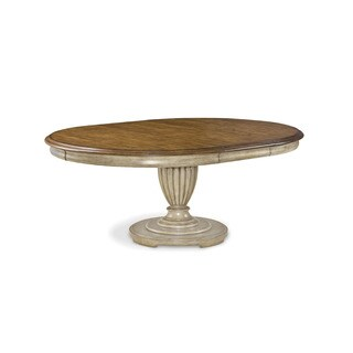A.R.T. Furniture Provenance English Toffee Round Table - Toffee /Beige