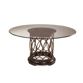 A.R.T. Furniture Intrigue Glass Top Dining Table - Grey