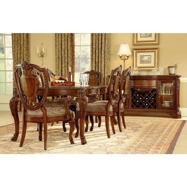 Shop A.R.T. Furniture Old World Shield Back Dining Chair ...