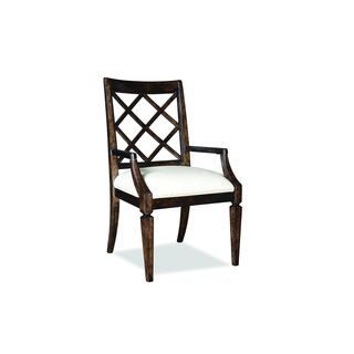 A.R.T. Furniture Classic Lattice Back Arm Chairs (Set of 2)