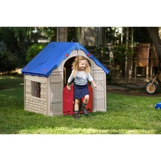 The WonderFold Keter Easy to Fold Children's Folding Playhouse