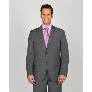 Geoffrey Beene Men's Grey Polyester/ Rayon Suit Jacket Separate
