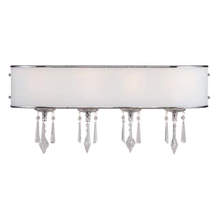 Golden Lighting Echelon Steel 4 Light Bath Vanity