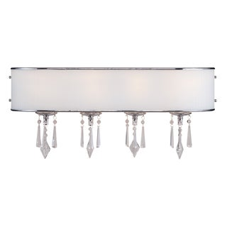 Golden Lighting Echelon Steel 4 Light Bath Vanity
