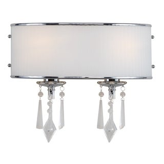 Golden Lighting Echelon Steel 2-light Bath Vanity