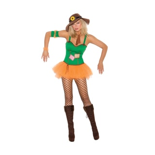 Sunflower Women's Scarecrow Multicolor Polyester Costume