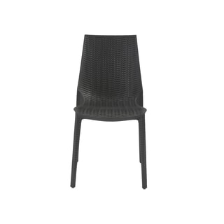 Lucrezia Anthracite Stacking Side Chair (Set of 6)