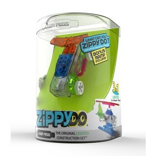 Laser Pegs 3 in 1 Zippy Do Lighted Construction Toy