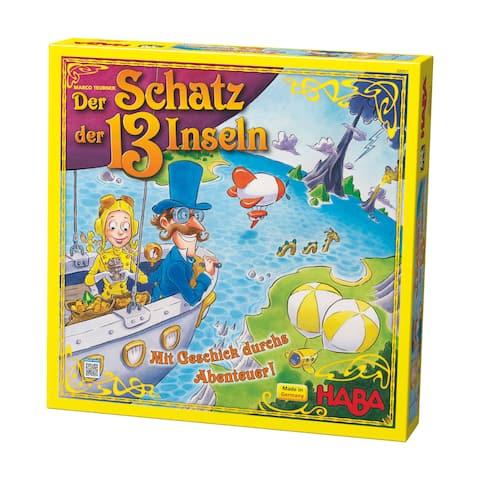 Haba 'The Treasure of the 13 Islands' Board Game