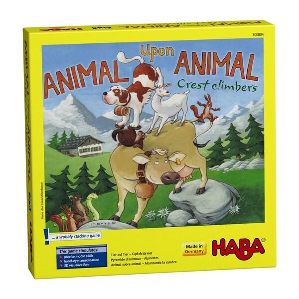Haba Animal Upon Animal Crest Climbers