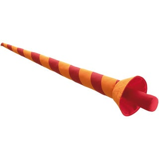 Haba Henry Strong's Lance 31-inch Long Striped Fabric and Foam Padded Toy