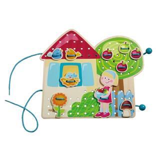 Haba Greta's Garden Lodge Multicolor Threading Game https://ak1.ostkcdn.com/images/products/12746855/P19524136.jpg?impolicy=medium
