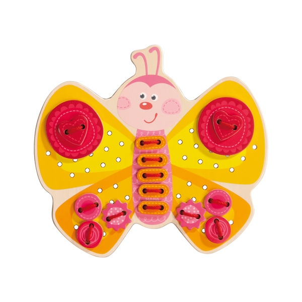 Haba Kids Butterfly Threading Game