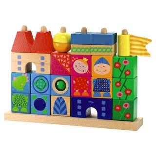 Haba Stack-A-Dragons Castle Multicolored Wooden Block Set|https://ak1.ostkcdn.com/images/products/12746869/P19524139.jpg?impolicy=medium