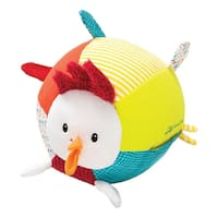 Lilliputiens John The Rooster Multisound Fabric Ball