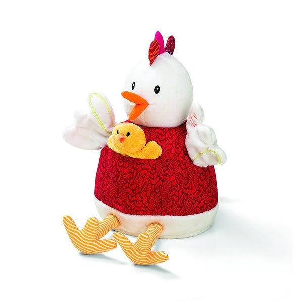 Lilliputiens Ophelie and Chicks Baby Activity Toy and Puppet Set