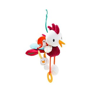 Lilliputiens John Acti-Rooster Car Seat/Crib Dangling Toy