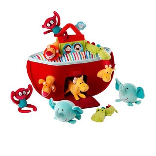 Lilliputiens Fabric Noah's Ark Plush Playset