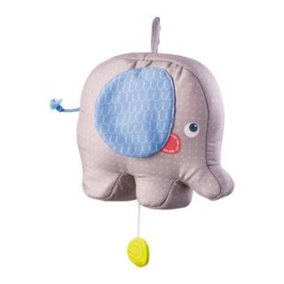 Haba Elephant Egon Multicolored Fabric Musical Box Baby Toy