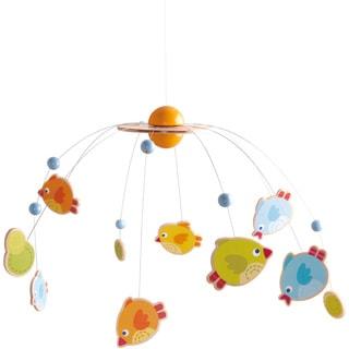 Haba Multicolor Fabric Little Birds Crib Mobile