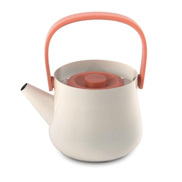 BergHOFF Ron 1.1-quart Orange Teapot and Strainer