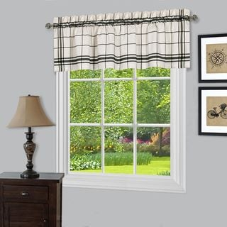 Bainbridge Multicolor Window Curtain Valance