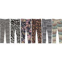 Riviera Toddlers/Kids Multicolored Printed Joggers (Pack of 6)