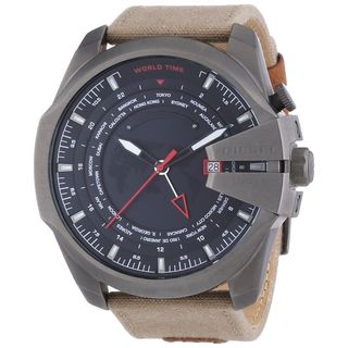 Diesel Men's DZ4306 'Mega chief' Brown Canvas Watch