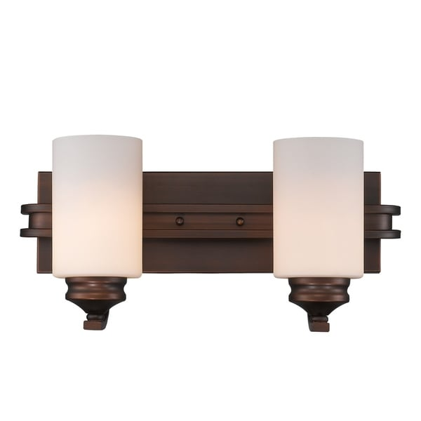 Golden Lighting 1051 Ba2 Sbz Op Hidalgo 2 Light Bath Fixture