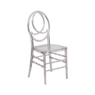 Offex Home Elegance Crystal Ice Stacking Phoenix Chair