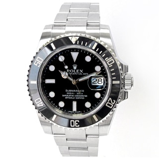 Pre-owned 40mm Rolex Stainless Steel Submariner