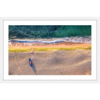 Marmont Hill - 'One Canoe' Framed Painting Print