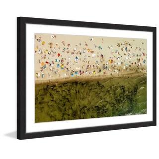 Marmont Hill - 'Seaweed' by Karolis Janulis Framed Painting Print