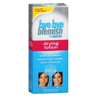 Bye Bye Blemish 1-ounce Drying Lotion for Acne