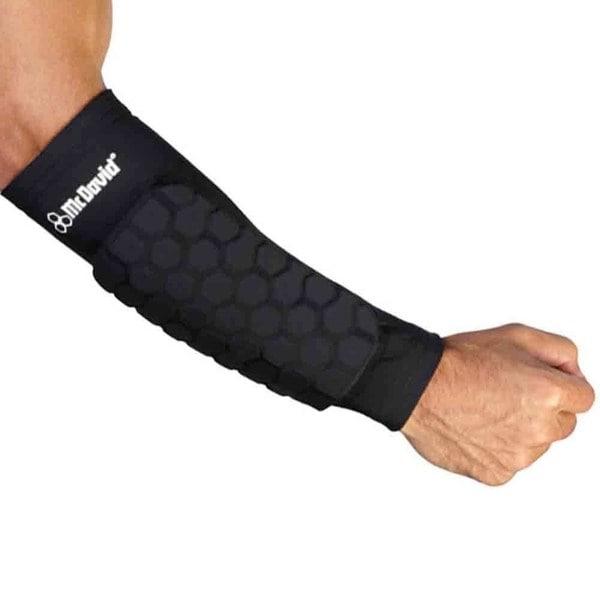 McDavid Classic Black Hex Dual-density Forearm Sleeves