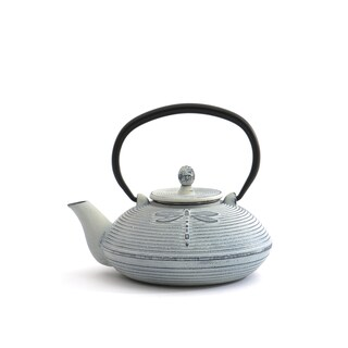 Studio White Cast Iron 3-cup Teapot