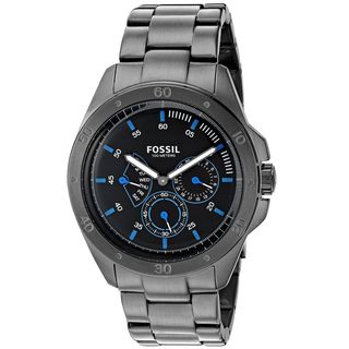 Fossil Men's CH3035 'Sport 54' Chronograph Black Stainless Steel Watch
