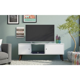 Accentuations by Manhattan Comfort Varberg Splayed Leg TV Stand