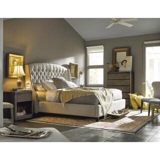 Curated Halston Tufted Upholstered King-size Bed