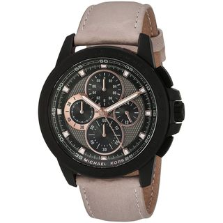 Michael Kors Men's MK8520 'Ryker' Chronograph Beige Leather Watch