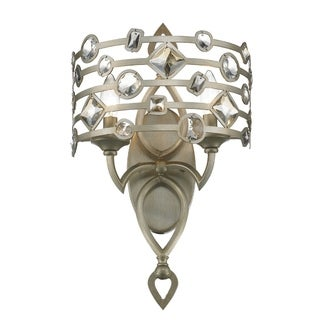 Golden Lighting Coronada 6390-WSC WG 2-light Wall Sconce