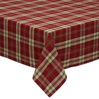 Campfire Plaid Tablecloth