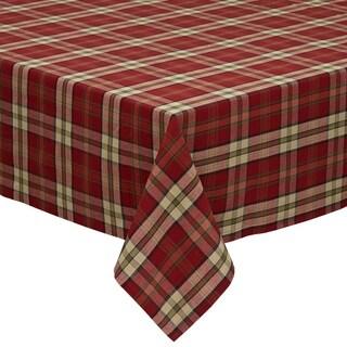 Campfire Plaid Tablecloth