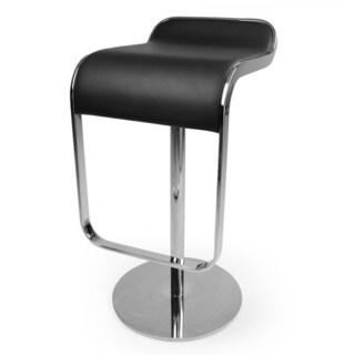 Kardiel LEM Italian Leather Piston Barstool